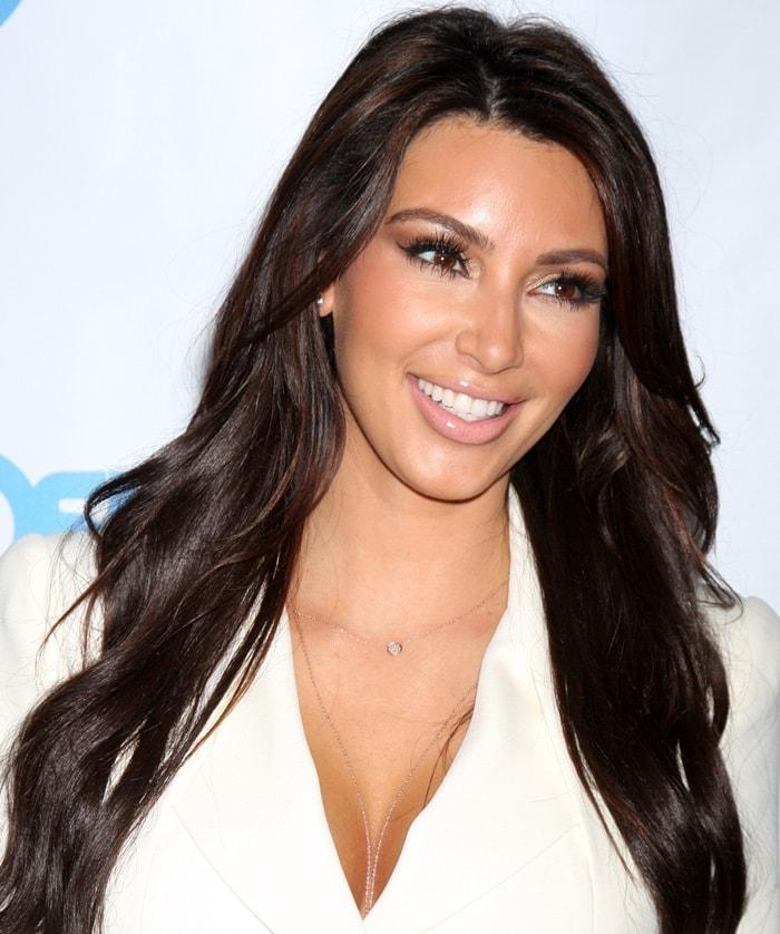 Kim Kardashian at the 4th Annual Night of Generosity Gala
