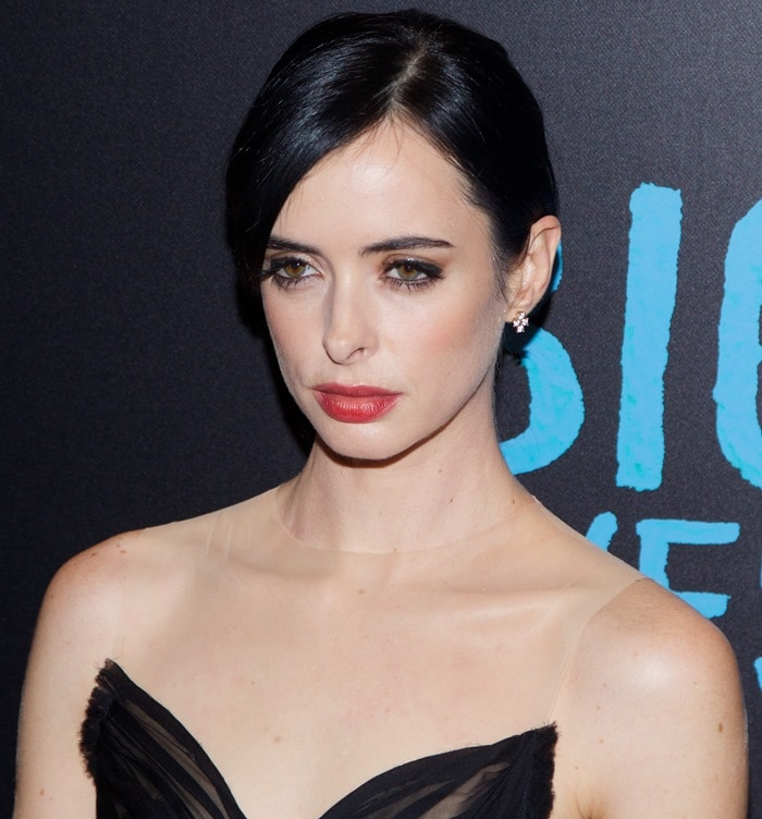 Krysten Ritter at the premiere of Big Eyes held at the Museum of Modern Art in New York City on December 15, 2014