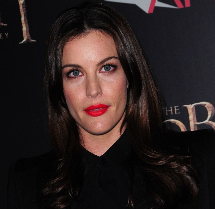 Liv Tyler at premiere of 'The Hobbit: Unexpected Journey'