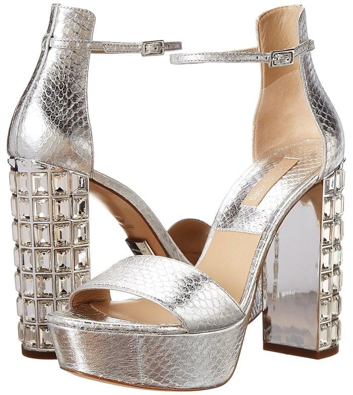 Michael Kors Collection Nikki Open-Toe Sandals