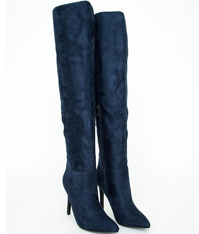 Missguided-Kate-Faux-Suede-Knee-High-Boots