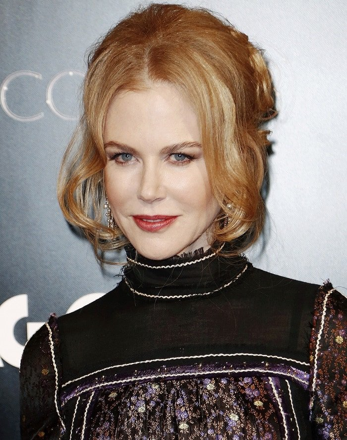 Nicole Kidman at the Agon Channel launch party photocall in Milan, Italy, on November 26, 2014