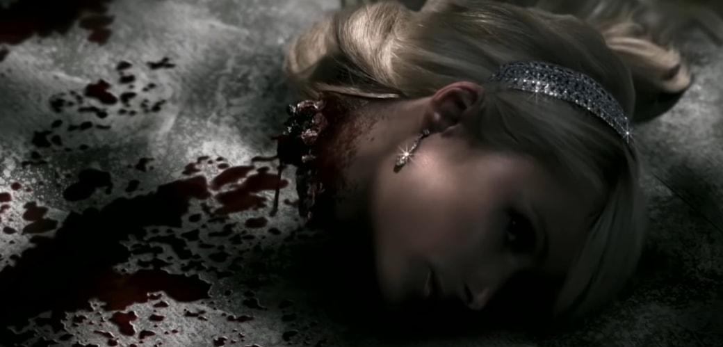 Paris Hilton has her head cut off by an iron ax in Supernatural