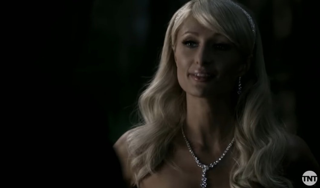 Paris Hilton guest stars in the episode Fallen Idols of Supernatural's fifth season
