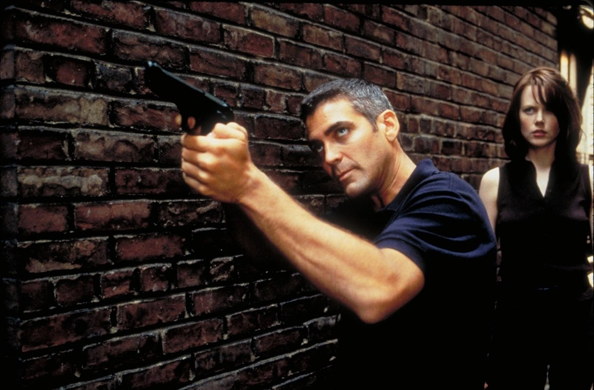 George Clooney starred opposite Nicole Kidman in the 1997 American action thriller film The Peacemaker