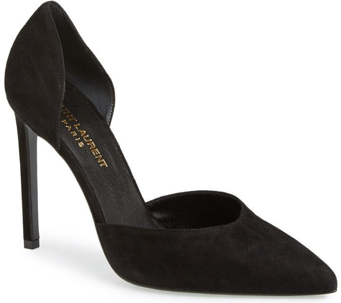 Saint Laurent d'Orsay Pointy-Toe Pumps