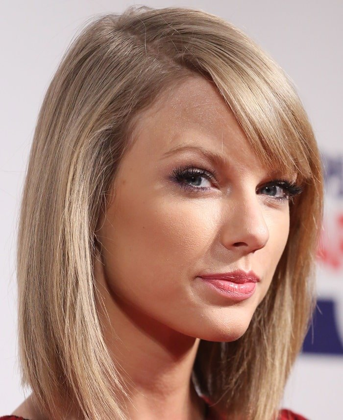Taylor Swift at the 2014 Jingle Bell Ball held at O2 Arena in London, England, on December 7, 2014