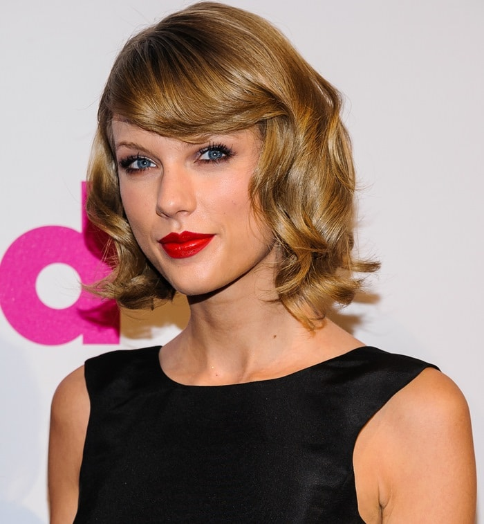 Taylor Swift at the 2014 Billboard Women in Music Luncheon held at Cipriani Wall Street in New York City on December 12, 2014