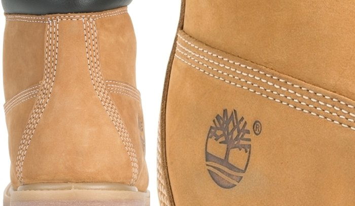 Genuine Timberland boots flaunt high-quality stitching that is evenly spaced and in four rows all throughout the boots