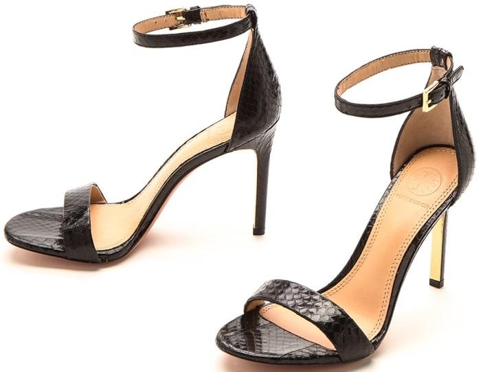 Tory Burch Keri Snake Sandals