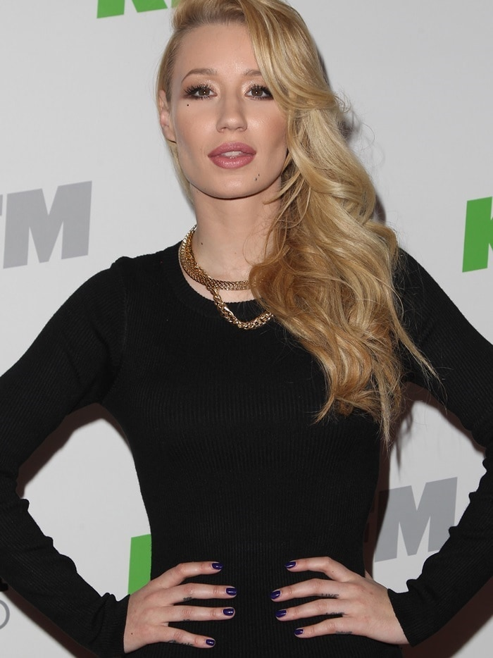 Recording artist Iggy Azalea attends KIIS FM's Jingle Ball 2014 powered by LINE at Staples Center on December 5, 2014, in Los Angeles