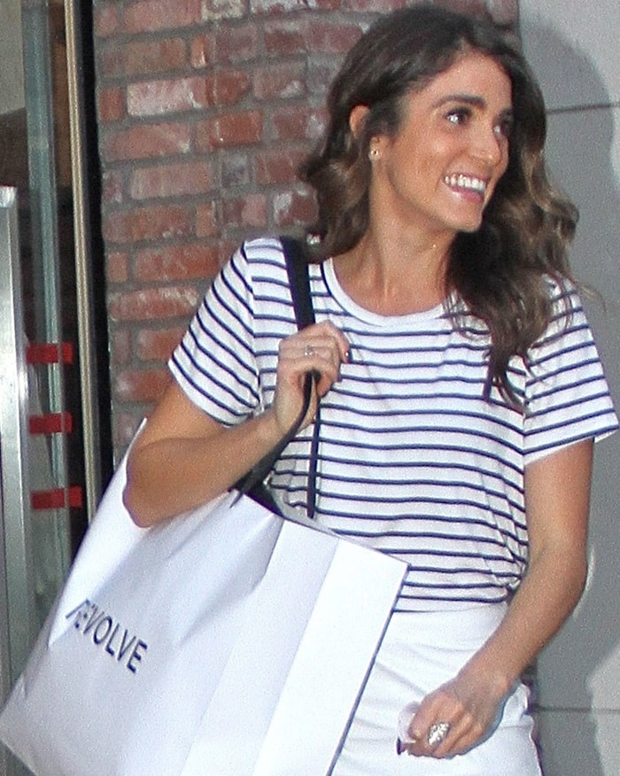 Nikki Reed shopping at Revolve at The Grove in Hollywood on December 11, 2014