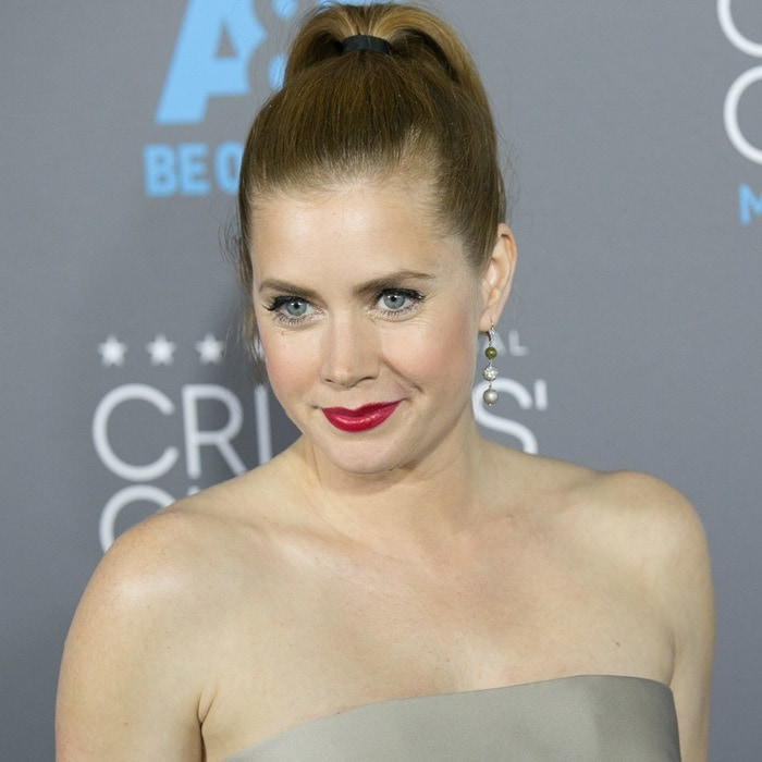Amy Adams at the 2015 Critics' Choice Movie Awards held at the Hollywood Palladium in Los Angeles on January 15, 2015