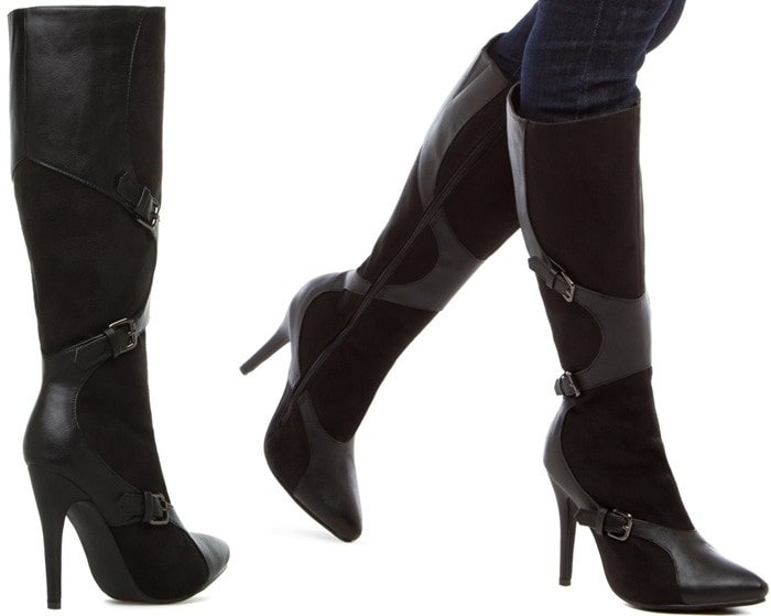 Andela Pointy-Toe Boots