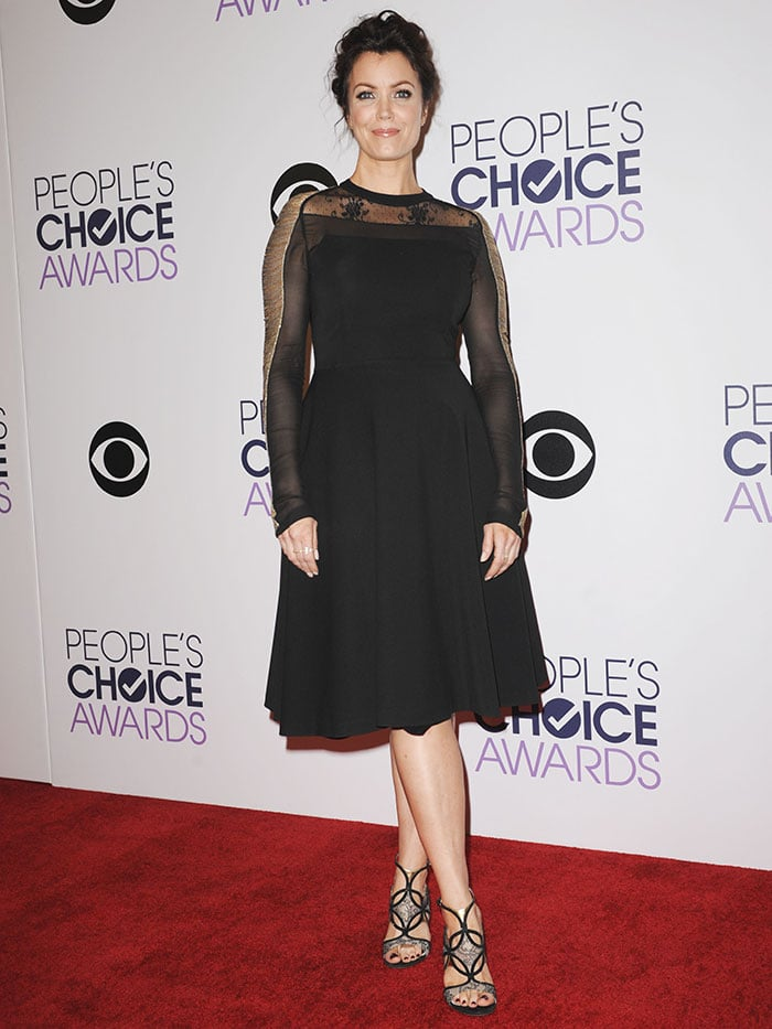 Bellamy Young at the People's Choice Awards 2015 held at the Nokia Theater L.A. Live in Los Angeles on January 7, 2015