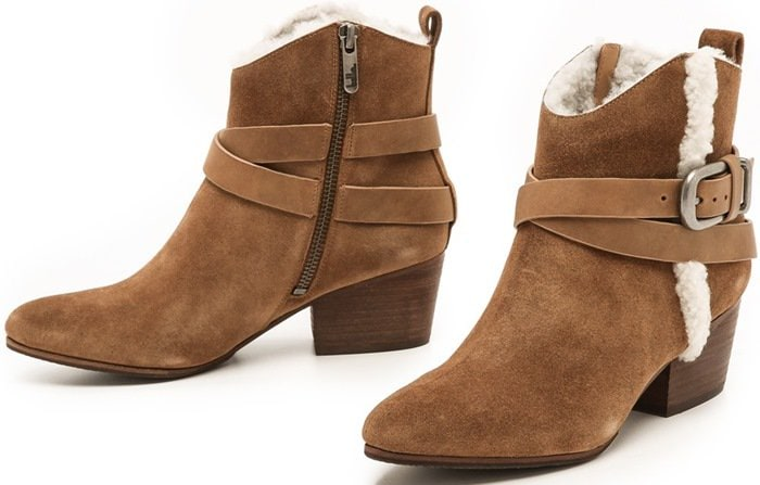 Belle by Sigerson Morrison Laica Shearling Booties