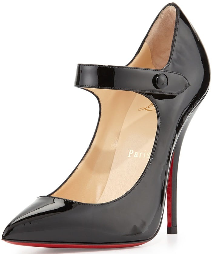 Christian Louboutin Neo Pensee Mary Jane Red Sole Pump