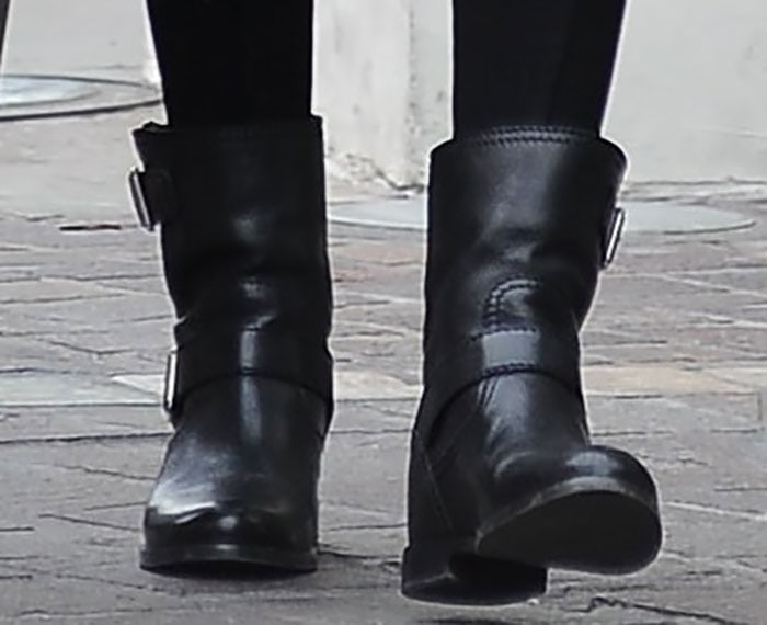 Eva Longoria's favorite motorcycle boots