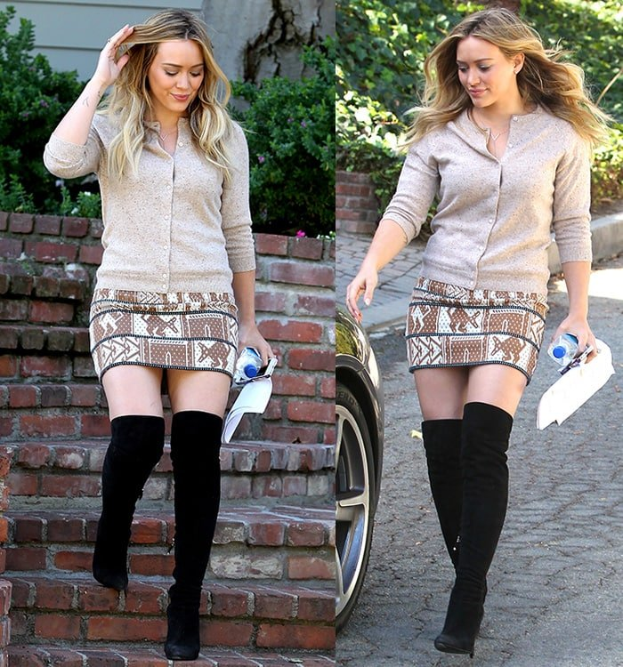 How to Wear Thigh High Boots: 15 Chic Celebrity Outfits