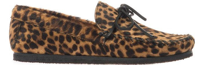 Isabel-Marant-Fell-calf-hair-moccasin-shoes