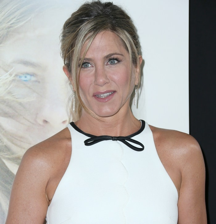 Jennifer Aniston at the premiere of Cake at ArcLight Cinemas in Hollywood on January 14, 2015