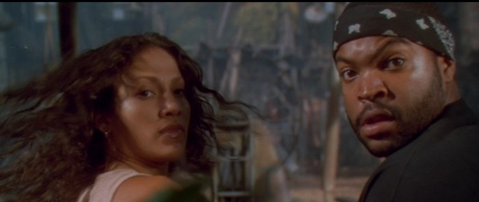 Jennifer Lopez starred with Ice Cube in the 1997 American adventure horror film Anaconda