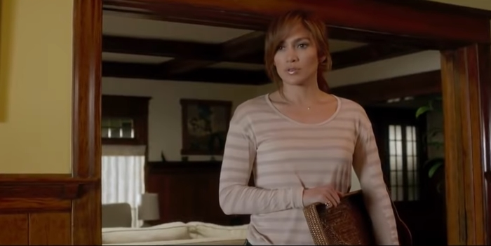 Jennifer Lopez stars as Claire Peterson in the erotic psychological thriller film The Boy Next Door
