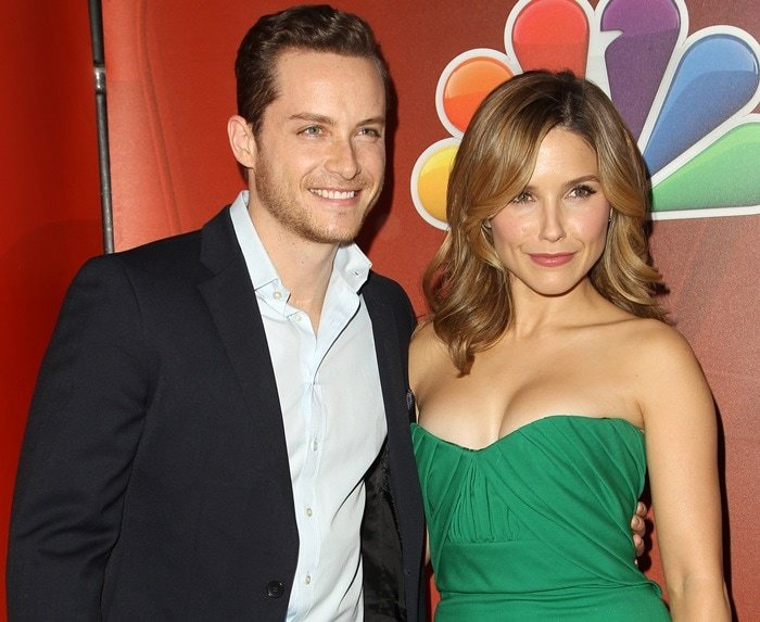Jesse Lee Soffer and Sophia Bush at NBCUniversal's 2015 Winter TCA Tour – Day 2 held at The Langham Huntington Hotel and Spa in Pasadena on January 16, 2015