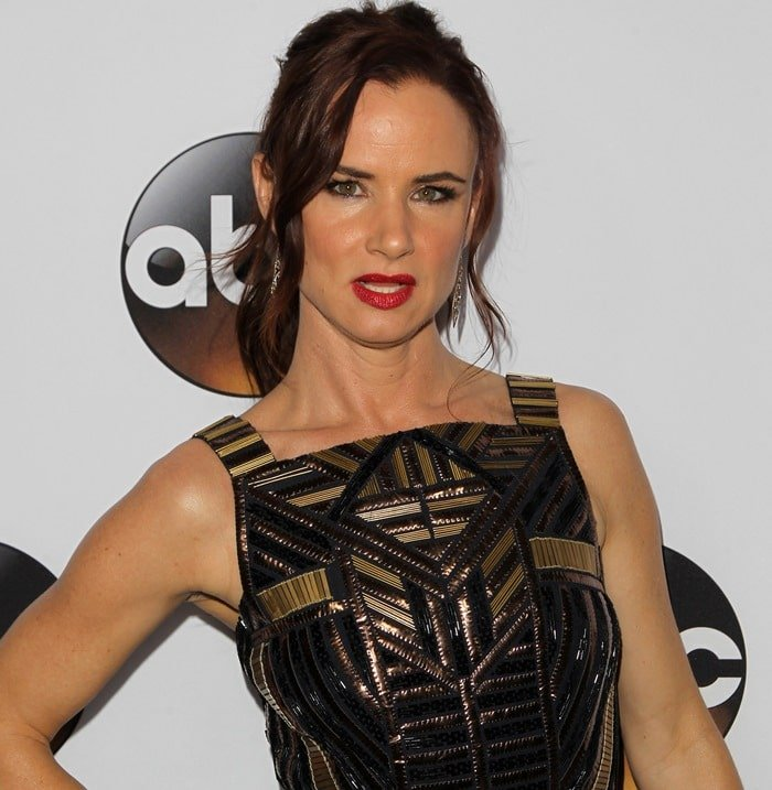 Juliette Lewis at the Disney & ABC Television Group's TCA Winter Press Tour in Pasadena on January 14, 2015
