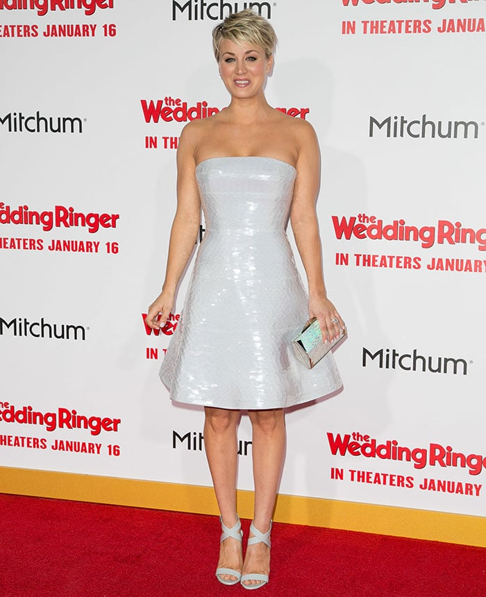 Kaley-Cuoco-The-Wedding-Ringer-world-premiere