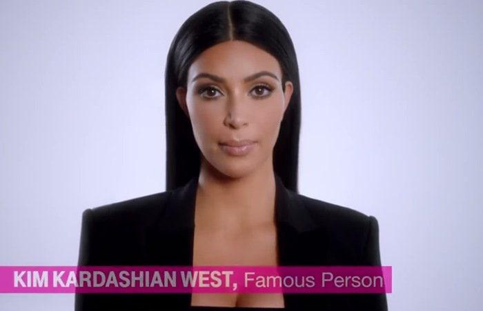 Kim Kardashian Famous Person