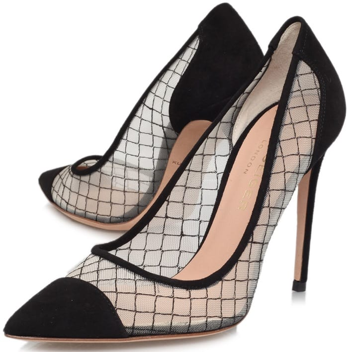 Kurt Geiger Sharkie Sheer Pumps