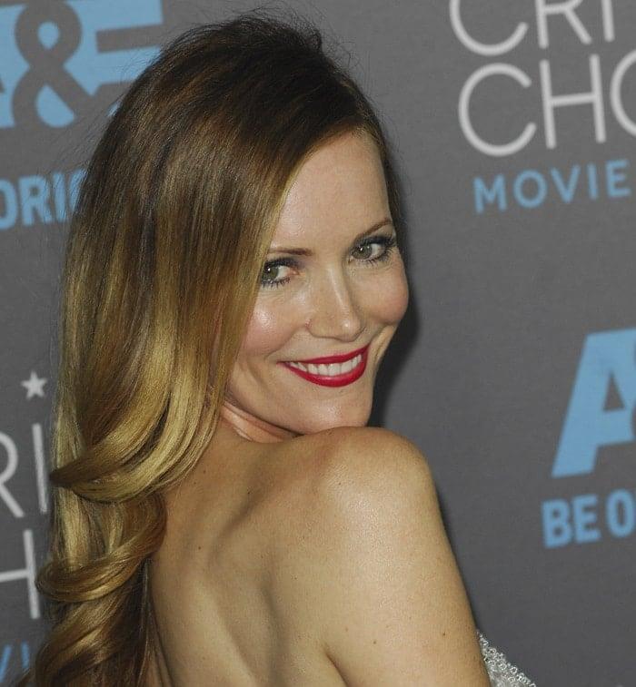 Leslie Mann at the 2015 Critics' Choice Movie Awards