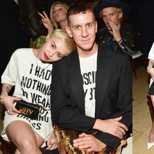 Miley Cyrus' Instagram post of her and designer Jeremy Scott at The Daily Front Row Fashion Los Angeles Awards Show-- posted on January 23, 2015
