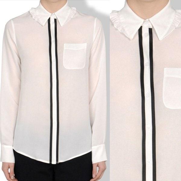Moschino Cheap and Chic Long Sleeve Shirt