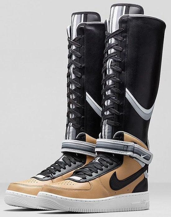 Naomi Campbell s Nike x Riccardo Tisci Air Force 1 Sneaker Boots 48e1b95b9