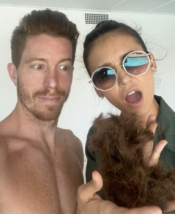 It's now official that Nina Dobrev is dating snowboarder Shaun White
