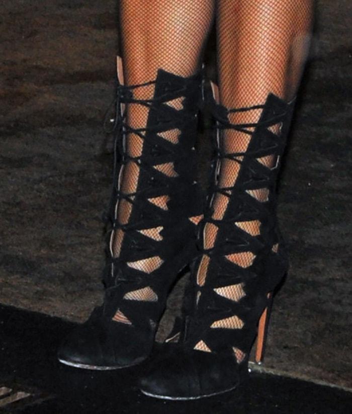Paris-Hilton-Alaia-Cutout-Lace-Up-Boots