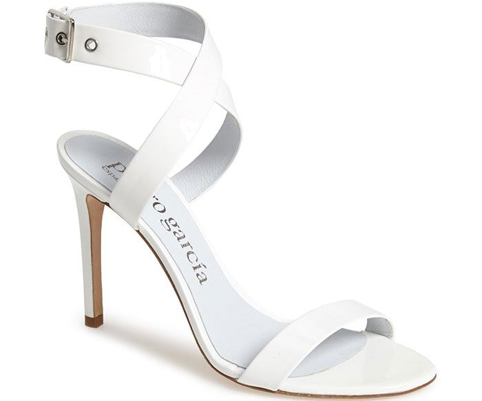 Cecily Ankle-Strap Sandals Meringue