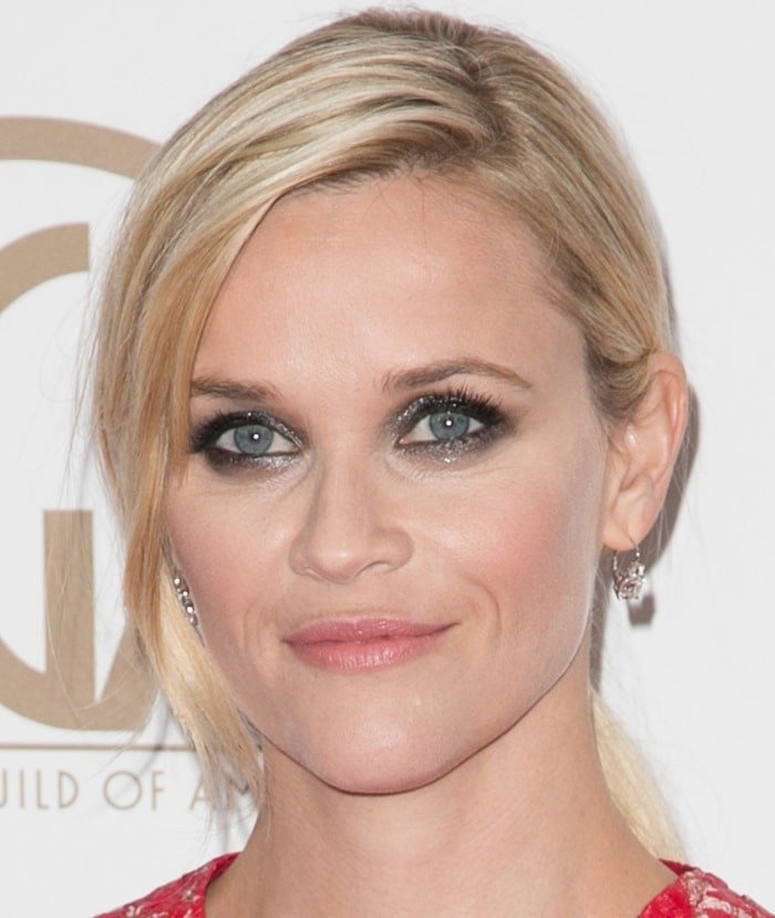Reese Witherspoon at the 2015 Producers Guild Of America Awards held at the Hyatt Regency Century Plaza in Los Angeles on January 25, 2015