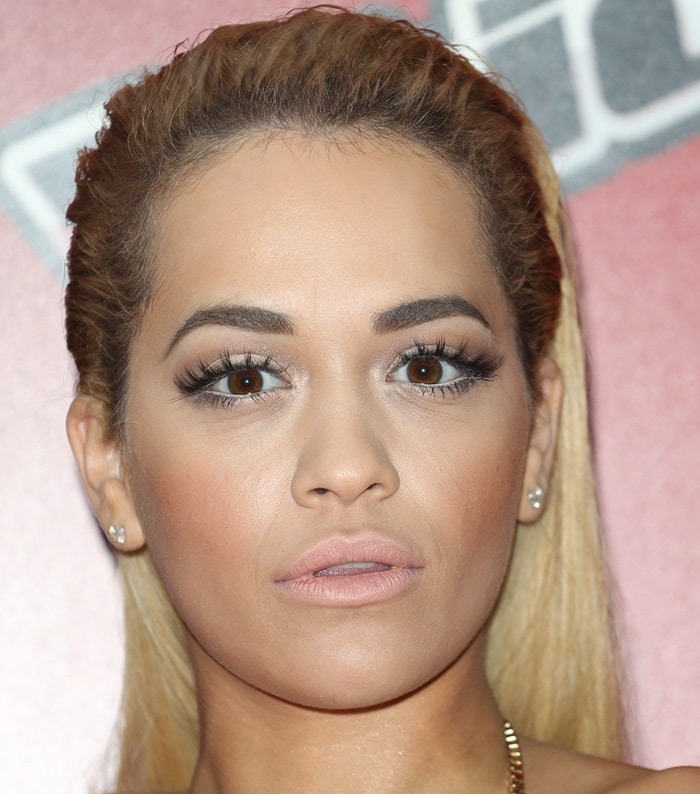 Rita Ora knows how to get everyone's attention