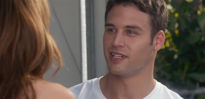 Ryan Guzman turned 26 while filming The Boy Next Door as 19-year-old Noah Sandborn
