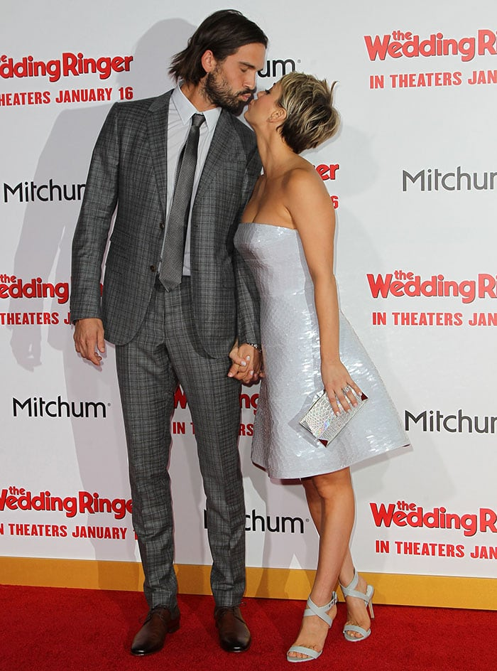 Ryan-Sweeting-Kaley-Cuoco-The-Wedding-Ringer-Premiere