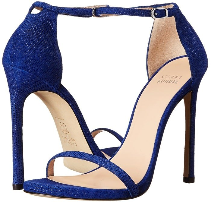 Stuart Weitzman Bridal & Evening Collection Nudist Blue Sandals