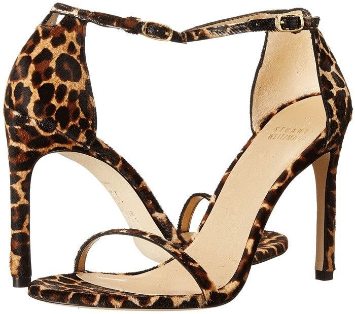 Stuart Weitzman Bridal & Evening Collection Nudistsong Leopard Sandals