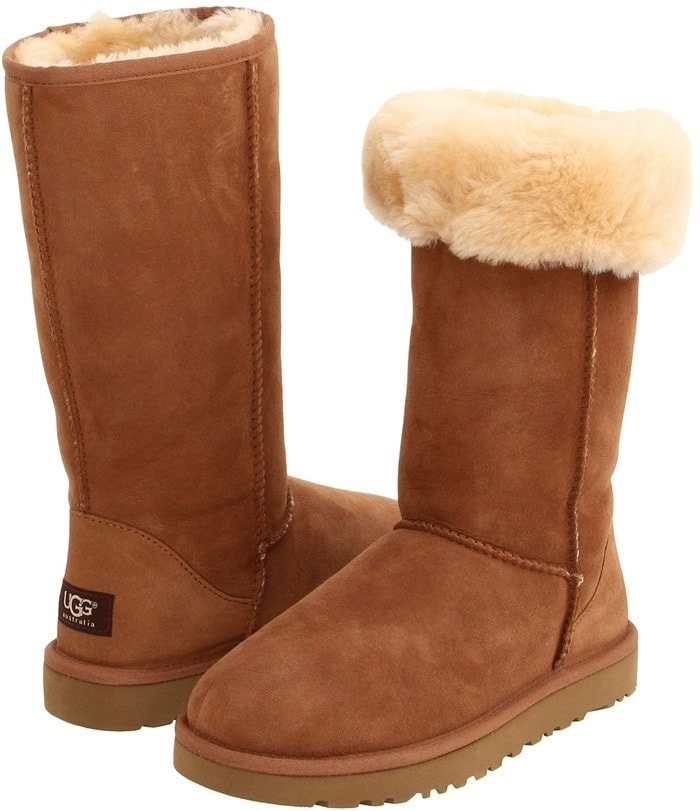 UGG Classic Tall Boots in Chestnut