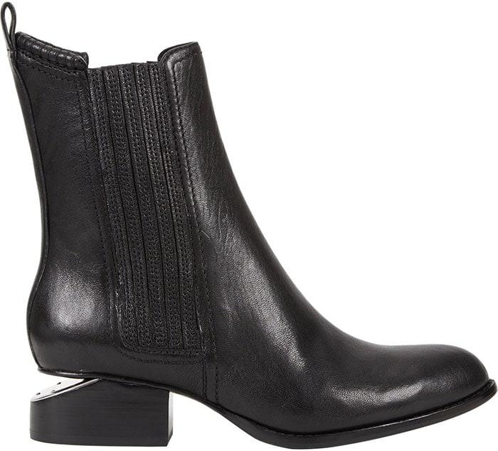 Alexander Wang Anouck Cutout-Heel Boots