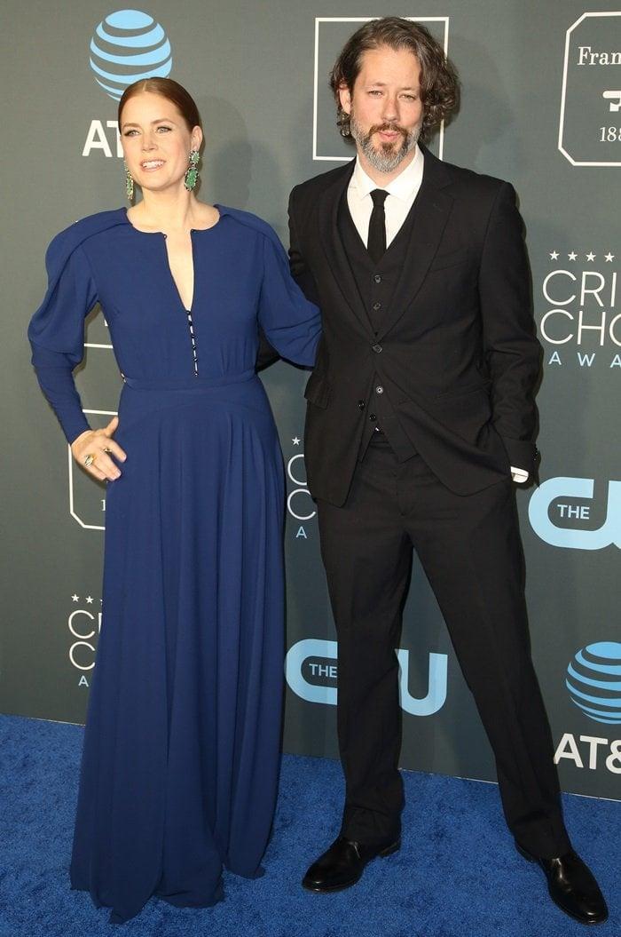 Amy Adams and her husbandDarren Le Gallo
