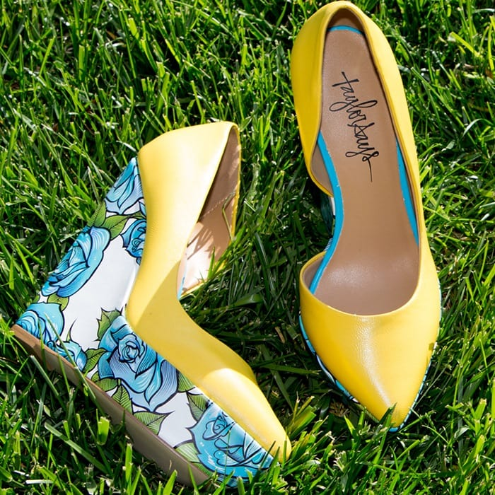 Bonafide Yellow Pumps
