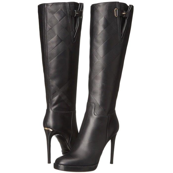 Burberry Becmead Black Boots